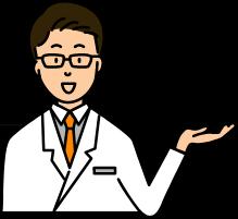 ご利用料金を説明するドクターのイメージ